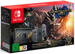 Nintendo Switch Console - Monster Hunter: Rise Edition (Switch)