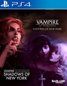 Vampire The Masquerade Coteries of New York + Shadows of New York (PS4)