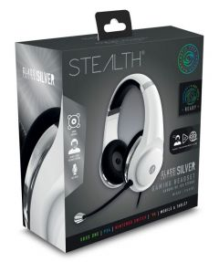 STEALTH XP-Glass Edition Gaming Headset - Silver