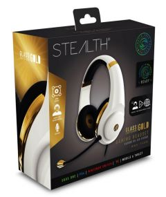 STEALTH XP-Glass Edition Gaming Headset - Gold