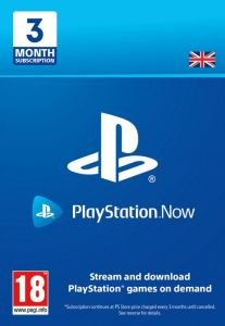 PlayStation Now 3 Month Subscription - Digital Code - UK account