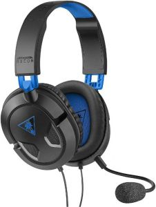 Turtle Beach Wired Ear Force Recon 50P Headset - Black/Blue (PS4)