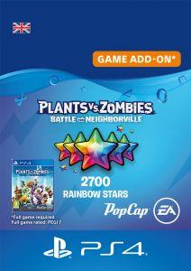 Plants vs Zombies: Battle For Neighborville - 2500 (+200 Bonus) Rainbow Stars - Digital Code - UK account