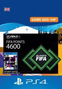 4600 FIFA 21 FUT POINTS PACK - DIGITAL CODE - UK ACCOUNT
