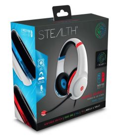STEALTH XP-Match Your Set-Up Gaming Headset Blue/Red