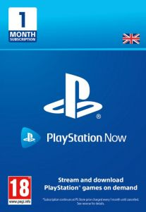 PlayStation Now 1 Month Subscription - Digital Code - UK account