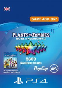 Plants vs Zombies: Battle For Neighborville - 5000 (+600 Bonus) Rainbow Stars - Digital Code - UK account