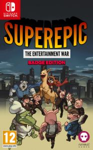 SuperEpic: The Entertainment War - Badge Collector's Edition (Switch)