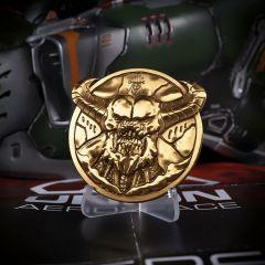 Doom Baron 'Level Up' Medallion