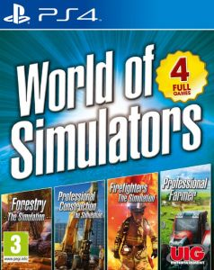 World Of Simulators- Forestry, Firefighters, Pro Farmer, Pro Construction (PS4)