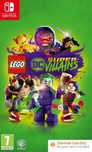 LEGO DC Super-Villains [Code in Box] (Switch)
