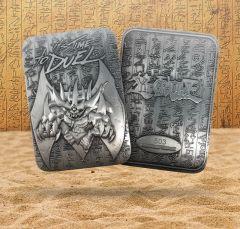 Yu-Gi-Oh! - Obelisk The Tormentor Metal God Card