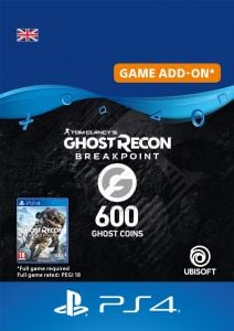 Ghost Recon Breakpoint 600 Ghost Coins - Digital Code - UK account