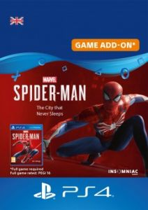 Marvel's Spider-Man: The City That Never Sleeps - Digital Code - UK Account (PS4)