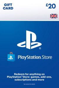 PSN Wallet Top Up - £20.00 - Digital Code - UK account