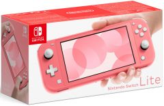 Nintendo Switch Lite Console - Coral (Switch)