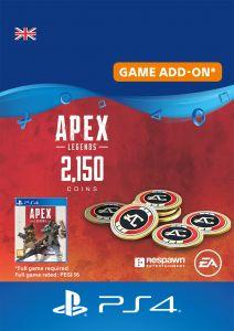 Apex Legends 2150 Apex Coins - Digital Code - UK account