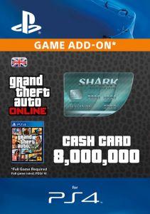 GTA V - Megalodon Shark Cash Card - Digital Code