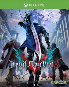 Devil May Cry 5 with Lenticular Sleeve (Xbox One)