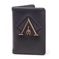 ASSASSIN'S CREED Odyssey Metal Logo Badge Premium Card Wallet