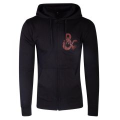 Dungeons & Dragons Iconic Logo Zipper Hoodie - Large