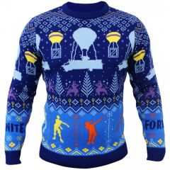 Fortnite Knitted Christmas Jumper - Extra Large