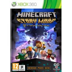 Minecraft: Story Mode - Season Pass Disc (Xbox 360)