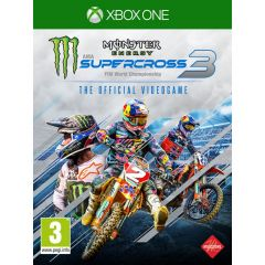 Monster Energy Supercross - The Official Videogame 3 (Xbox One)