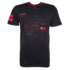 NES Controller Super Power T-Shirt - Extra Large