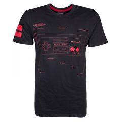 NES Controller Super Power T-Shirt - Medium