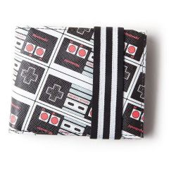 NES Controllers All-Over Print Bi-fold Wallet