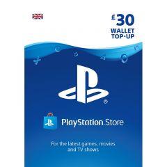 PSN Wallet Top Up - £30.00 - Digital Code - UK account