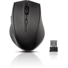 SPEEDLINK Calado Silent Wireless Mouse with USB Nano Receiver, Black