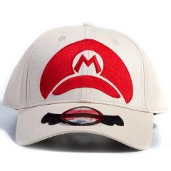 Super Mario Bros. Mario Cap Logo Adjustable Cap
