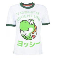 Super Mario Bros. Yoshi Adventure T-Shirt - Medium