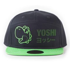 Super Mario Bros. Yoshi Dots Snapback Baseball Cap