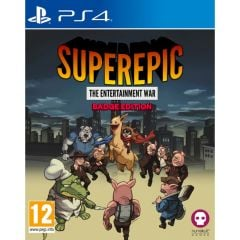 SuperEpic: The Entertainment War - Badge Collector's Edition (PS4)