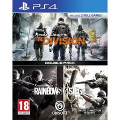 Tom Clancy's The Division + Rainbow Six Siege Double Pack (PS4)