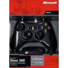 Xbox 360 Wireless Controller For Windows - Black (Xbox 360)