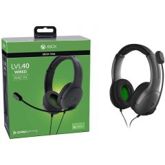Xbox LVL40 Wired Headset - Grey (Xbox One)