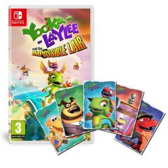 Yooka Laylee and the Impossible Lair & Limited Edition Art Cards (Switch)