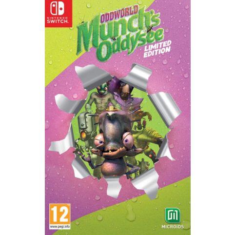 Oddworld: Munch's Oddysee - Limited Edition (Switch)