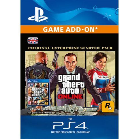 GTA Online: Criminal Enterprise Starter Pack - Digital Code