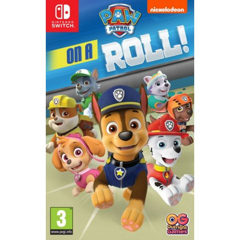 Paw Patrol: On A Roll [Code In A Box] (Switch)