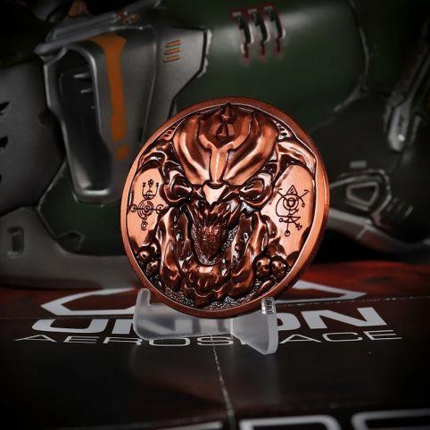 Doom Pinky 'Level Up' Medallion