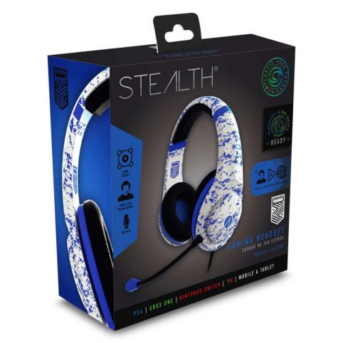 STEALTH XP-Conqueror Gaming Headset - Arctic Blue