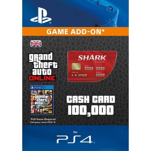 GTA V - Red Shark Cash Card - Digital Code