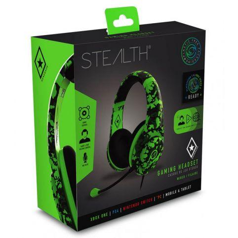 STEALTH XP-Ranger Gaming Headset - Neon Green Camo