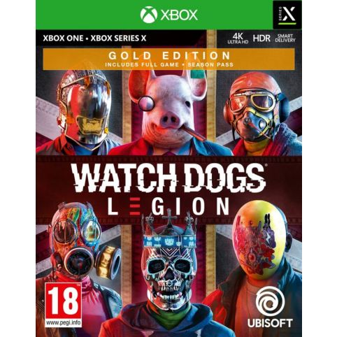Watch Dogs Legion Gold Edition With Free Steel Book (Xbox One)