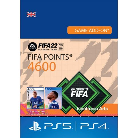 FUT 22 – FIFA Points 4600 - UK account